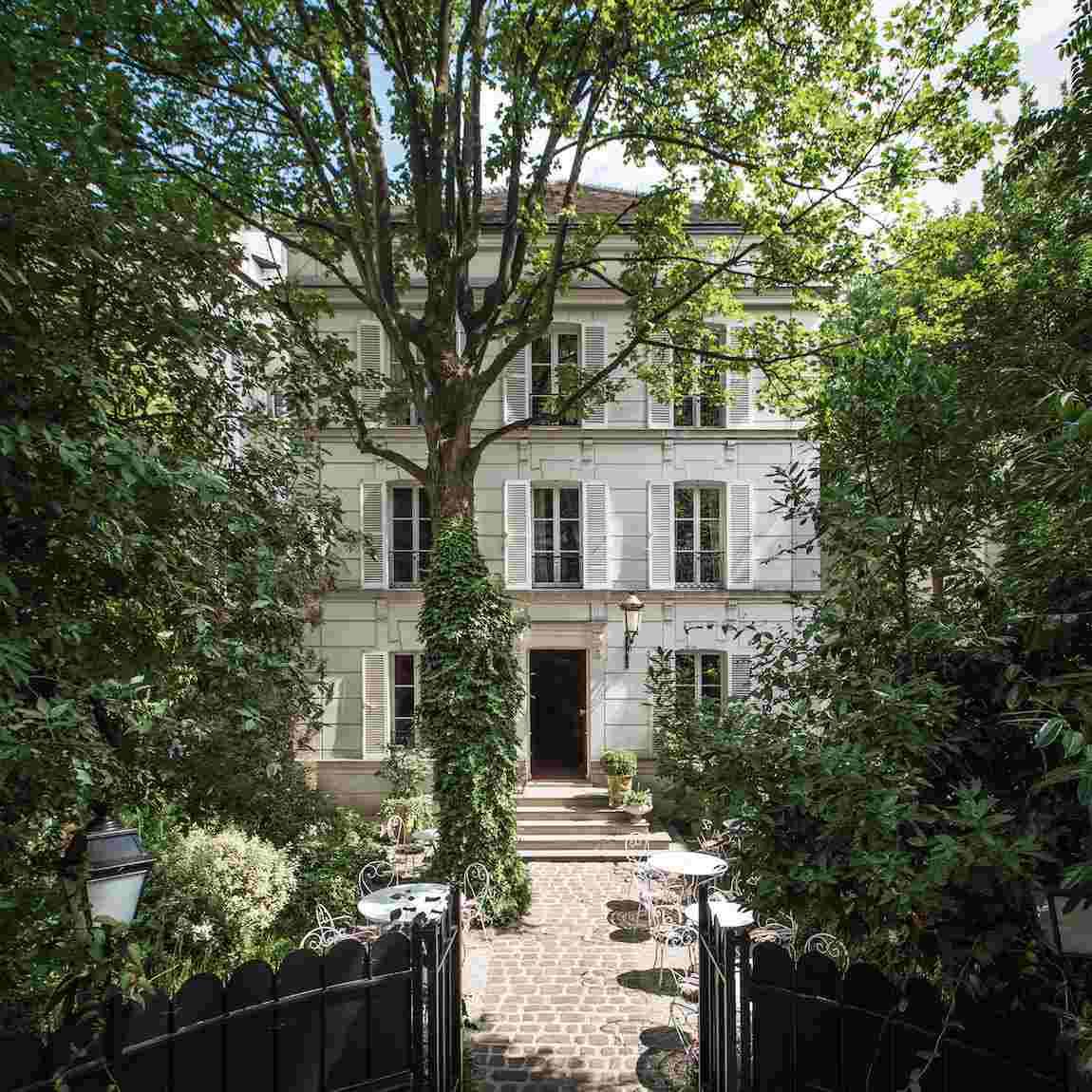 Jardins de l'hôtel particulier Montmartre