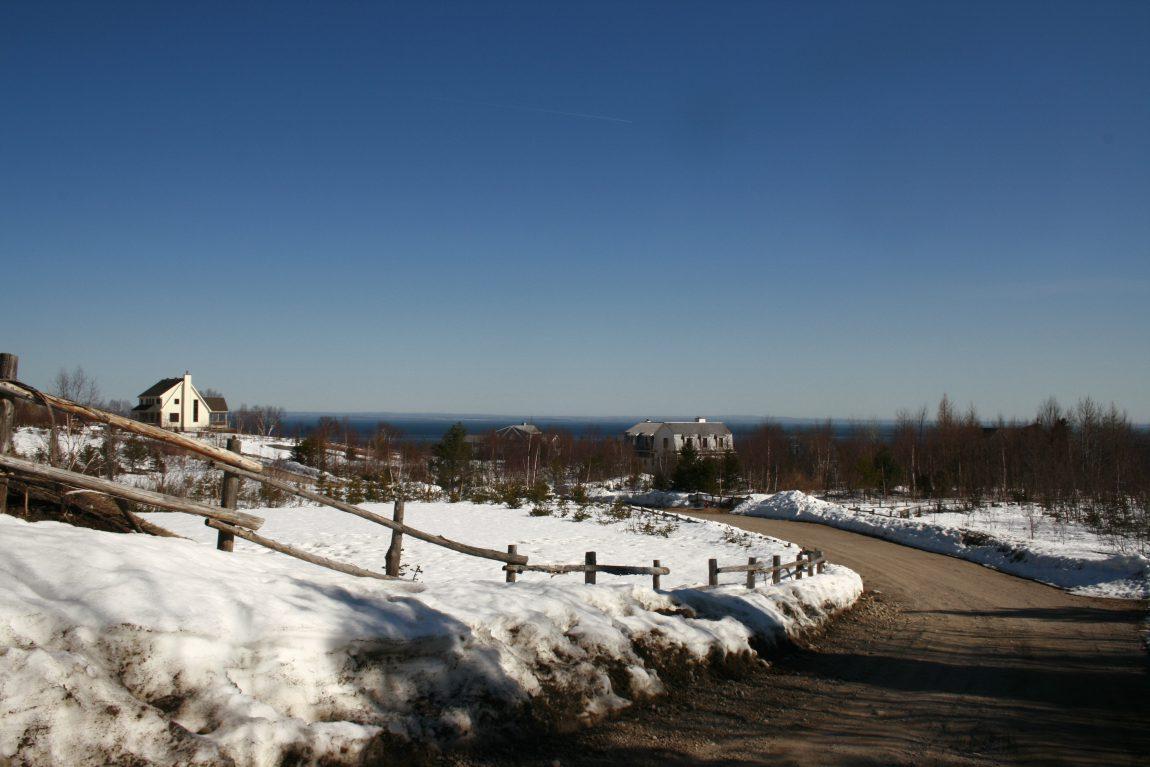 Pointe Rouge vers Tadoussac au Québec