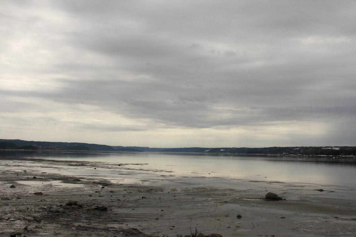Chicoutimi au bord du Fjord du Saguenay
