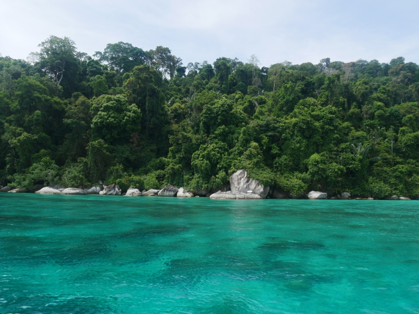 Bateau à Tioman Island
